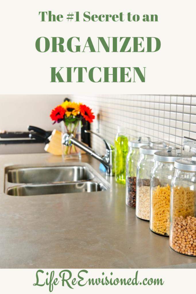 Secret to an Organized Kitchen
