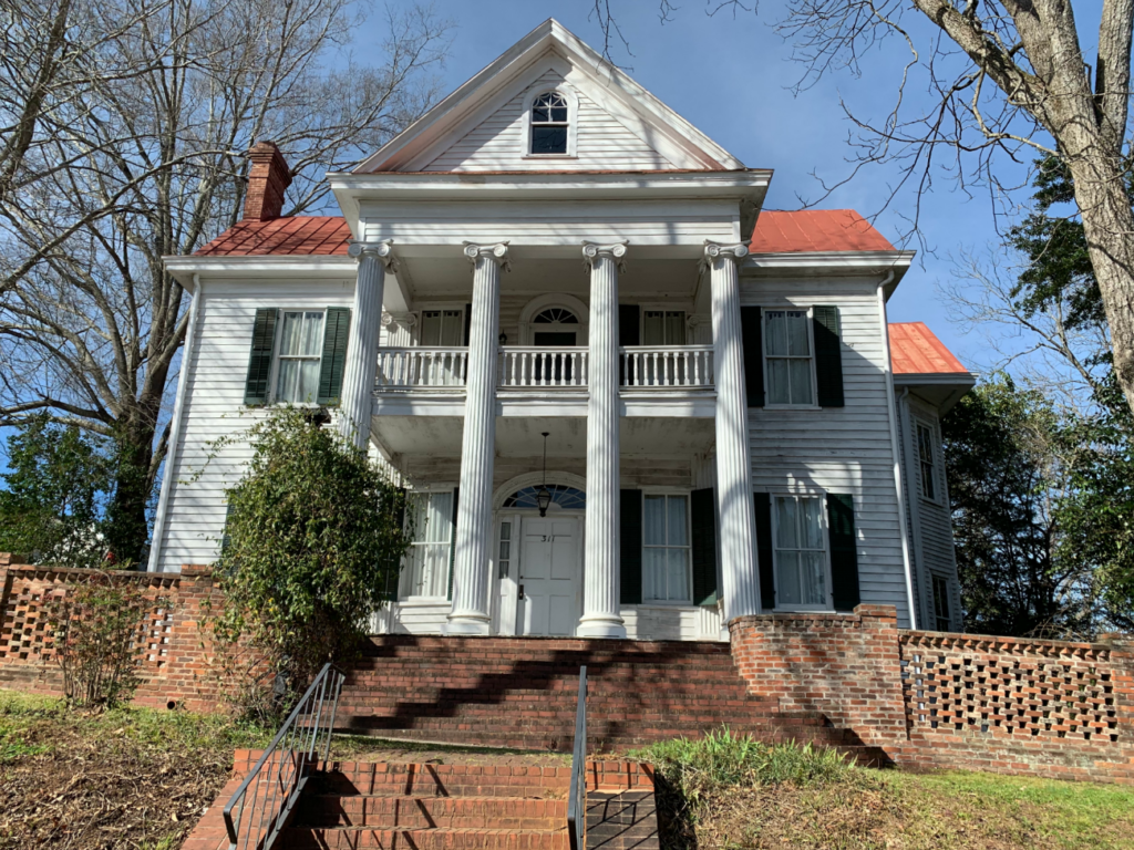 Flannery O'Connor's Childhood Home, Milledgeville, Georgia