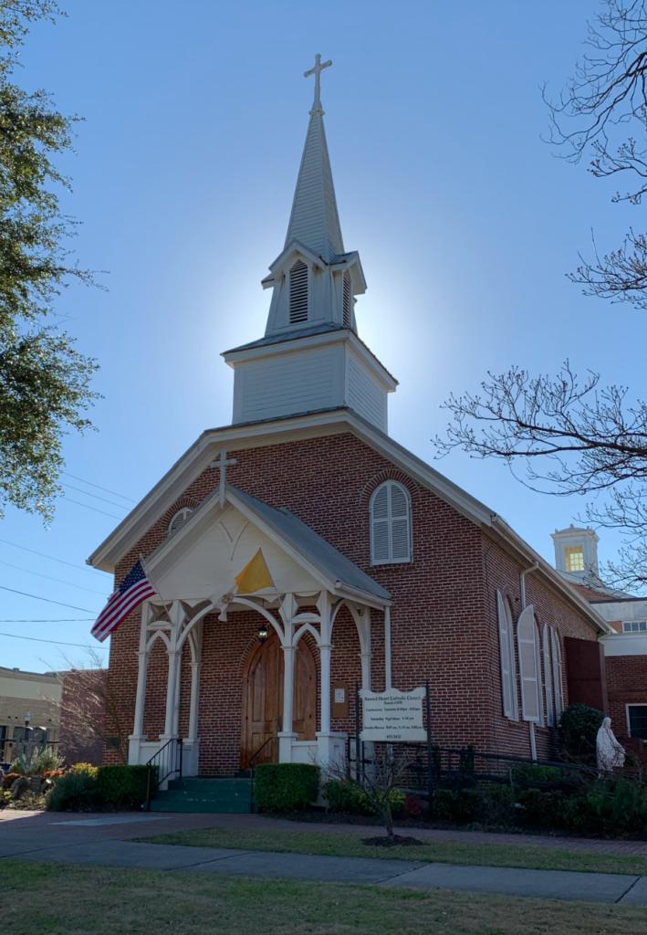 Sacred Heart Catholic Church, Flannery O'Connor's Hometown, Milledgeville, Georgia.