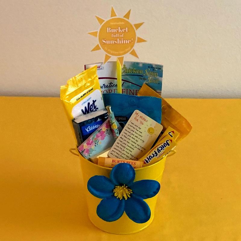 Bucket of Sunshine Gift Idea.